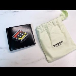 Burberry Graphic Canvas Bifold wallet